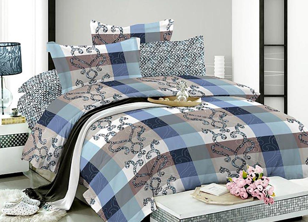 Комплект белья Primavera Вензель квадрат, семейный, наволочки 70x7092062