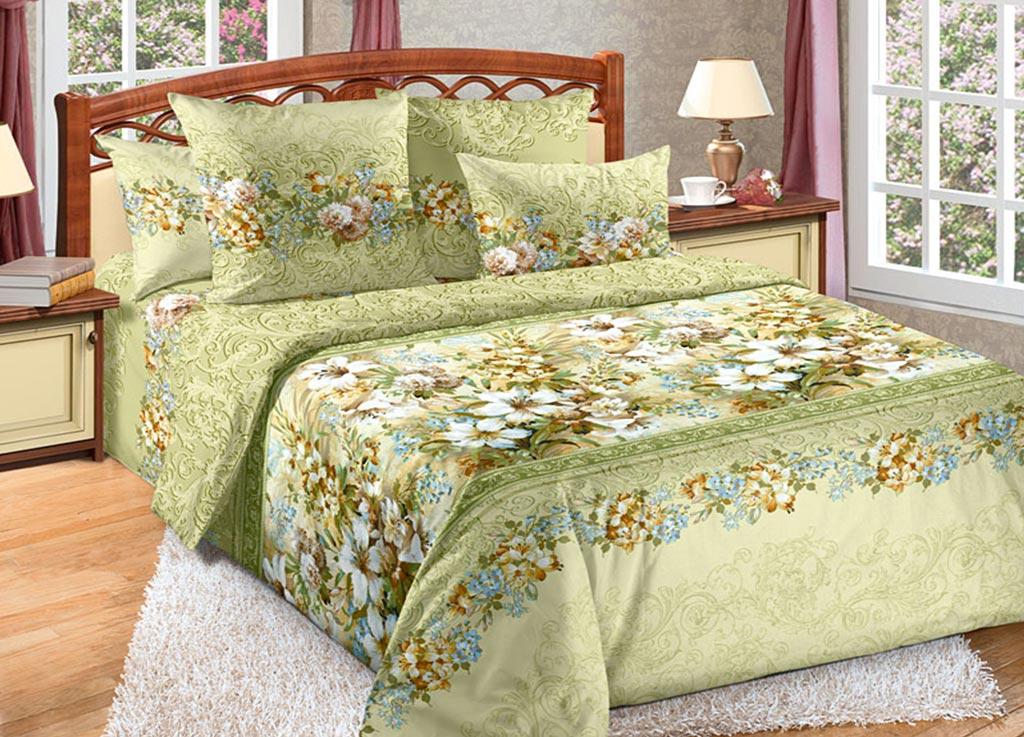 Комплект белья Primavera Белая лилия, 1,5-спальный, наволочки 70x7092074