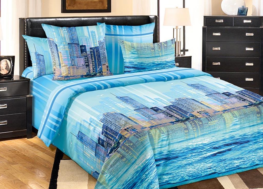 Комплект белья Primavera Мегаполис, 1,5-спальный, наволочки 70x7092086