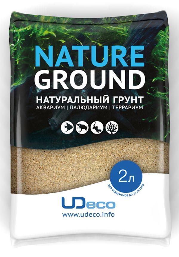Грунт для аквариума UDeco Янтарный песок, натуральный, 0,1-0,06 мм, 2 лUDC410212Натуральный грунт UDeco Янтарный песок предназначен специально для оформления аквариумов, палюдариумов и террариумов. Изделие готово к применению. Грунт UDeco порадует начинающих любителей природы и самых придирчивых дизайнеров, стремящихся к созданию нового, оригинального. Такая декорация придутся по вкусу и обитателям аквариумов и террариумов, которые ещё больше приблизятся к природной среде обитания. Необходимое количество грунта рассчитывается по формуле: длина аквариума х ширина аквариума х толщина слоя грунта. Предназначен для аквариумов от 25 литров. Фракция: 0,4-0,8 мм. Объем: 6 л.