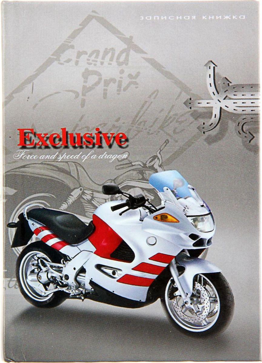 Profit Записная книжка Мотоцикл на сером 48 листов1191098