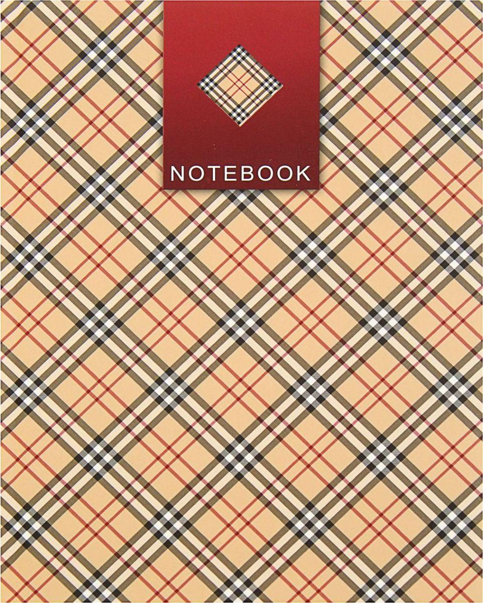 Проф-Пресс Записная книжка Клетчатый принт 80 листов1844732