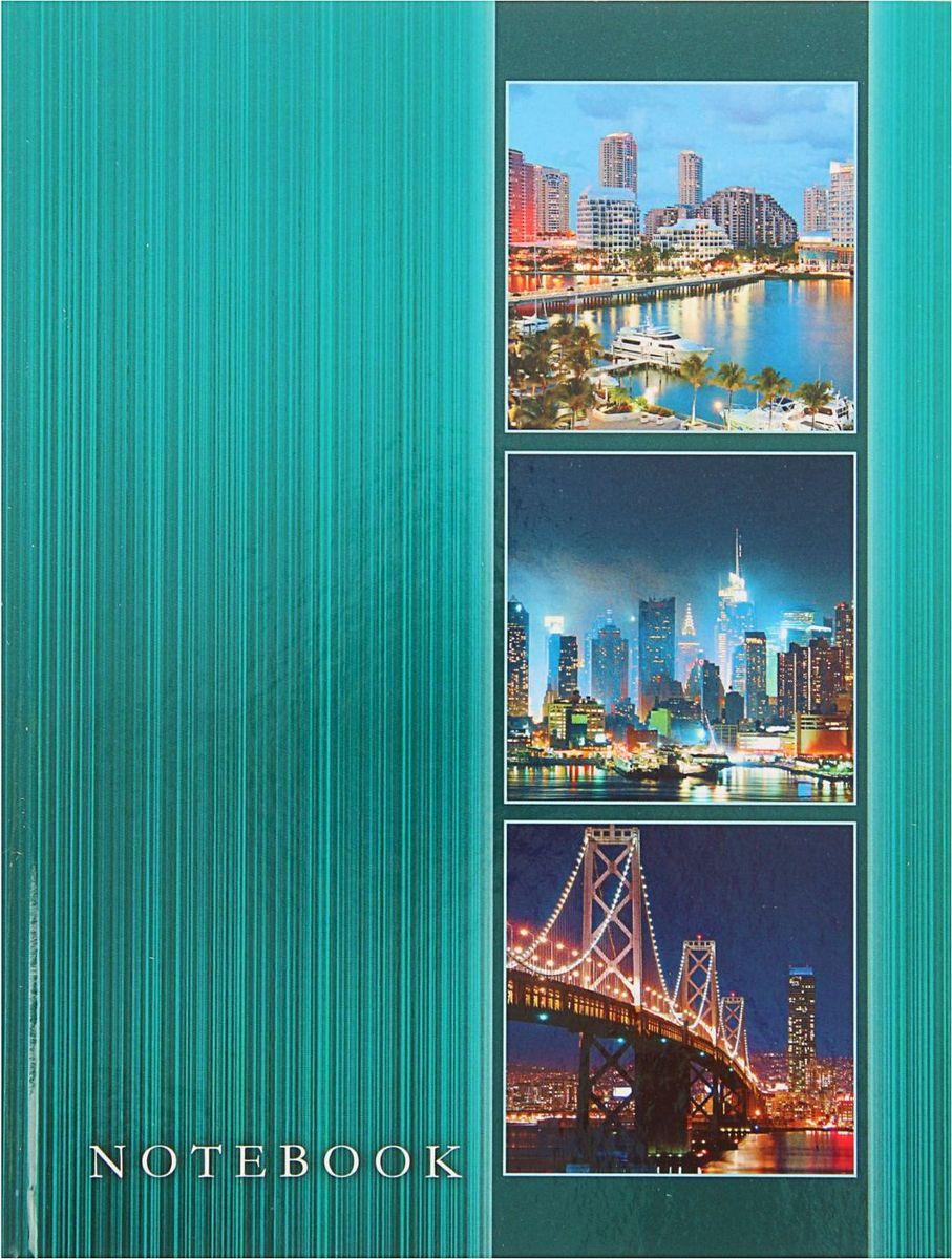 Проф-Пресс Записная книжка Ночные города 80 листов1844737