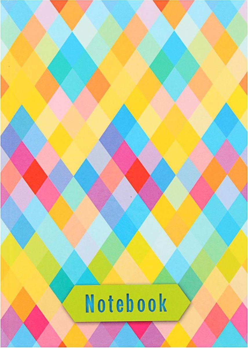 Проф-Пресс Записная книжка Ромбовый принт 80 листов1844743