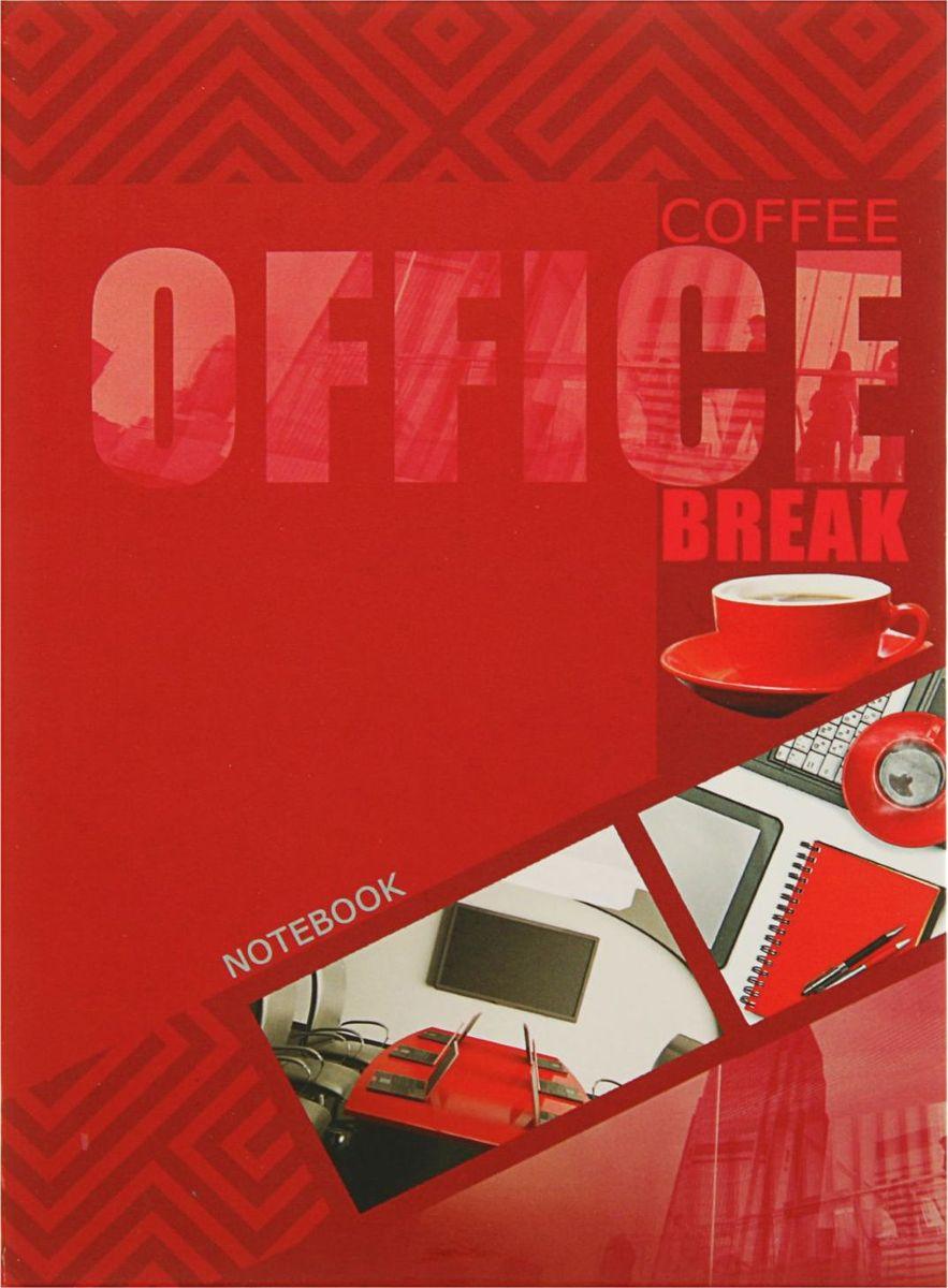Проф-Пресс Записная книжка Кофе и офис 160 листов2093381