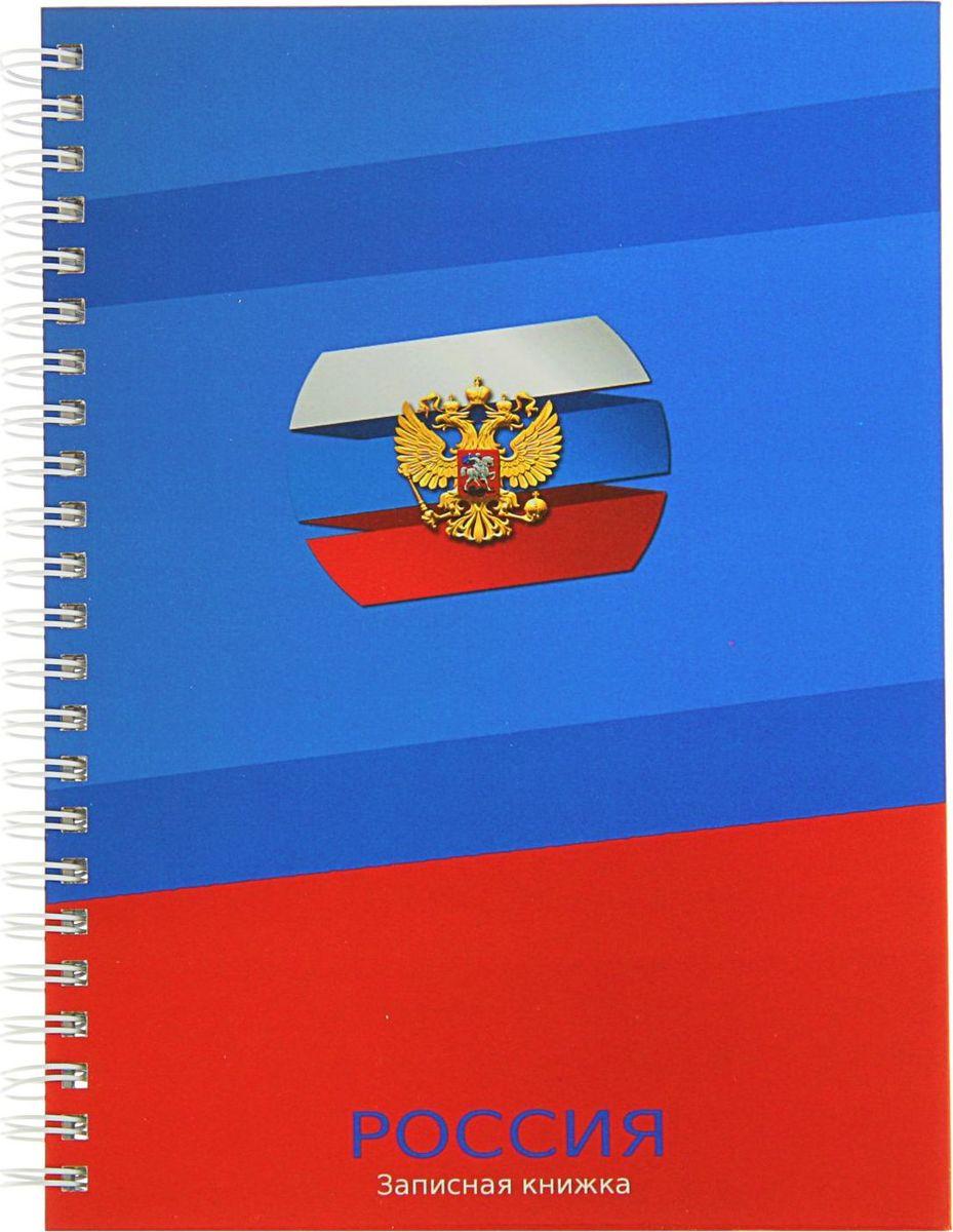 Проф-Пресс Записная книжка Герб 100 листов2093385
