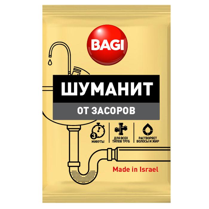 Средство для ванной и туалета Bagi Шуманит, от засоров, 70 гBG-H-208900-0Bagi Шуманит от засоров, 70 г