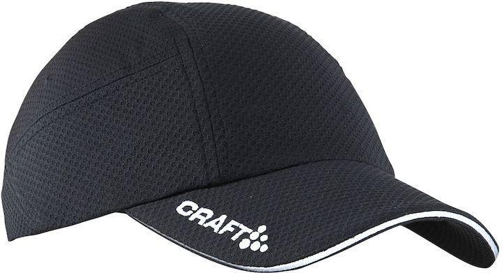 Кепка для бега Craft, цвет: черный. 1900095. Размер универсальный1900095