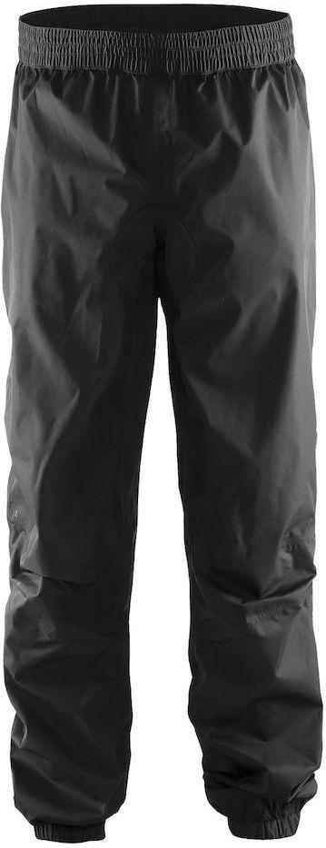 Штаны мужские для велоспорта Craft Escape Rain, цвет: черный. 1904055. Размер M1904055Легкие ветро- и водонепроницаемые брюки с проклееными швами и удобной посадкой.