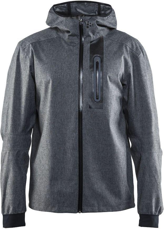 Куртка мужская для велоспорта Craft Ride Rain, цвет: серый. 1905008. Размер M1905008Легкая ветро- и водонепроницаемая куртка проклееными швами и отличной вентиляцией. Свободная посадка
