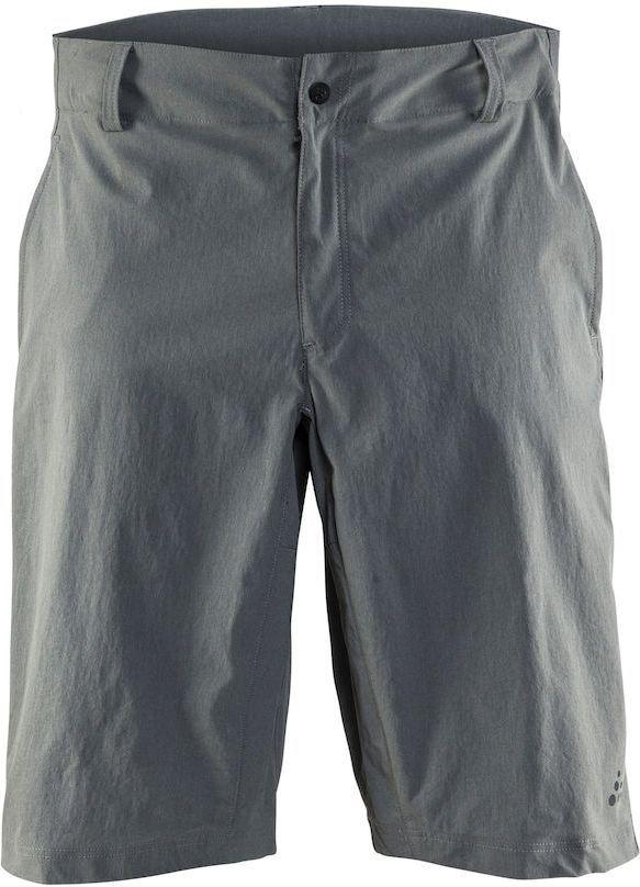 Шорты мужские для велоспорта Craft Ride, цвет: серый. 1905013. Размер L1905013Прочные, эластичные и удобные шорты со свободной посадкой для велоезды