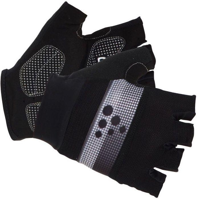 Велоперчатки Craft Classic, цвет: черный, серый. 1903304. Размер L (10)1903304Легкие перчатки с гелевыми вставками на точках давления и удобной посадкой