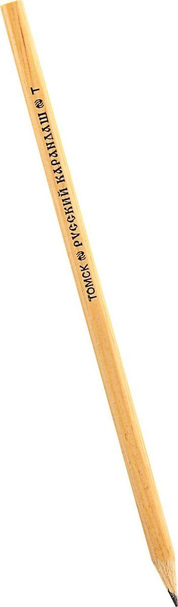 Русский карандаш Карандаш чернографитный Русский карандаш твердость H1174248
