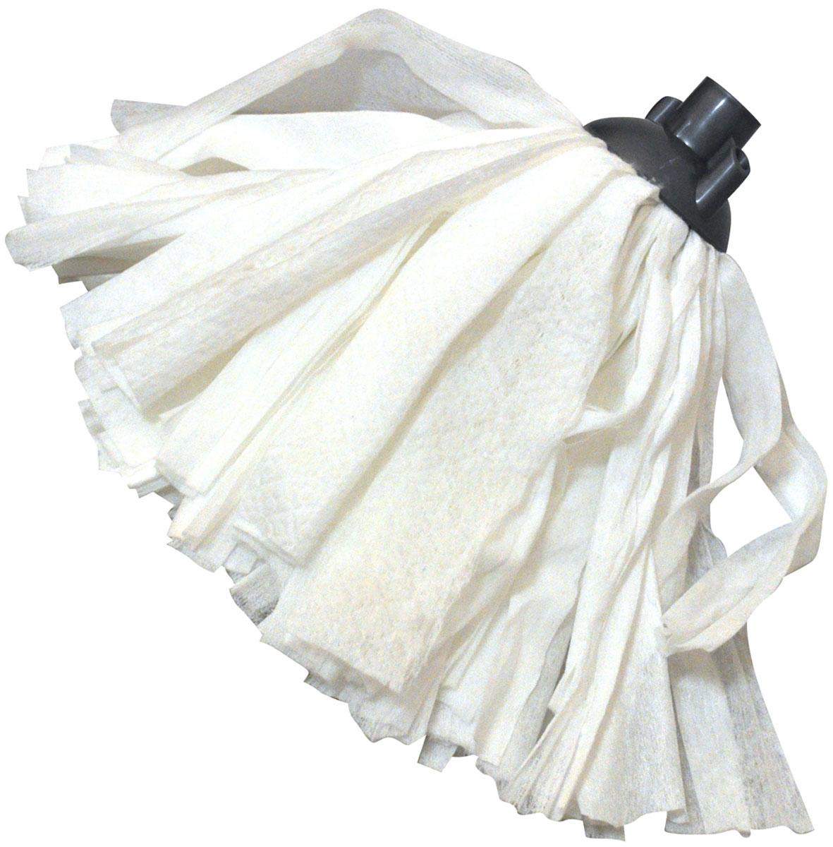 Насадка для швабры HomeQueen, цвет: белый. 5711057110Насадка для швабры 57186.