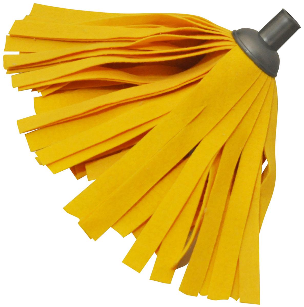 Насадка для швабры HomeQueen, цвет: оранжевый. 5816258162Насадка для швабры 57192.