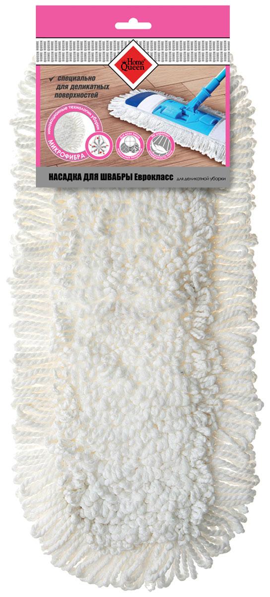 Насадка для швабры HomeQueen, для деликатной уборки, цвет: белый70060Насадка подходит к коду 70061, 56649. Специально для деликатных поверхностей. Высокая износостойкость. Отлично впитывает влагу.