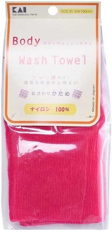 Kai мочалка для тела Body Wash Towel, жесткая, цвет: ярко-розовый27303kaiЖесткая мочалка для тела воздействует на кожу с умеренной интенсивностью. Яркие цвета мочалок в данной серии поднимут настроение и сделают принятие ванны особенно приятным!