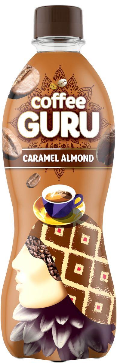 Coffee Guru Caramel Almond негазированный кофейный напиток со вкусом карамель-миндаль, 0,5 л4607050697240Этот бодрящий чуть горьковатый с нотами ореха напиток с глубоким вкусом всегда манит к себе, дарит мгновения покоя и заряд энергии. Новый Coffee Guru — идеальное сочетание традиций кофе и заряд бодрости на весь день! Впусти в себя тепло и густоту почти магического напитка — попробуй Coffee Guru Caramel Almond.