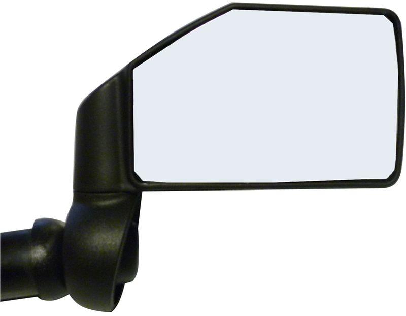 Зеркало велосипедное Zefal Dooback Left, на руль, правое4701Зеркала заднего вида – это не только аксессуар необходимы для удобного перемещения по городу, но и средство увеличивающее обзор вокруг вас, а это повышает безопасность передвижения. Зеркала ZEFAL Dooback устанавливаются в торец руля диаметром от 16 до 22 мм., вместо заглушек и надёжно там фиксируются. Отражающий элемент зеркала выполнен из ударопрочного пластика, и вы можете не бояться разбить его. Зеркала имеют полную регулировку положения на 360 градусов, для подбора обзора под вашу посадку. ZEFAL – старейший французский производитель велосипедных аксессуаров премиального качества, основанный в 1880 году, является номером один на французском рынке велосипедных аксессуаров. • Правое зеркало • Вес 70 г. • Ударопрочная конструкция • Полная регулировка положения зеркала • Размер зеркала 40 см? • Устанавливается в торец руля от 16 до 22 мм.