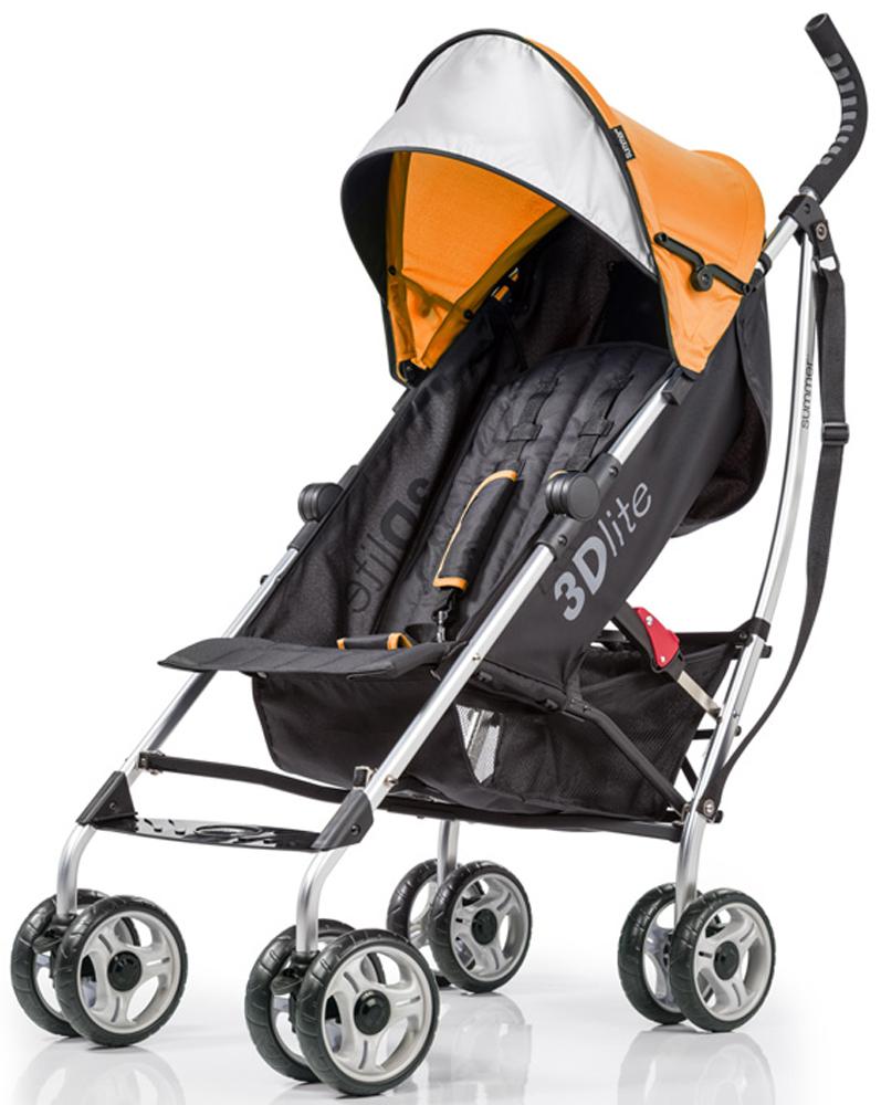 Summer Infant Коляска прогулочная 3D Lite цвет оранжевый