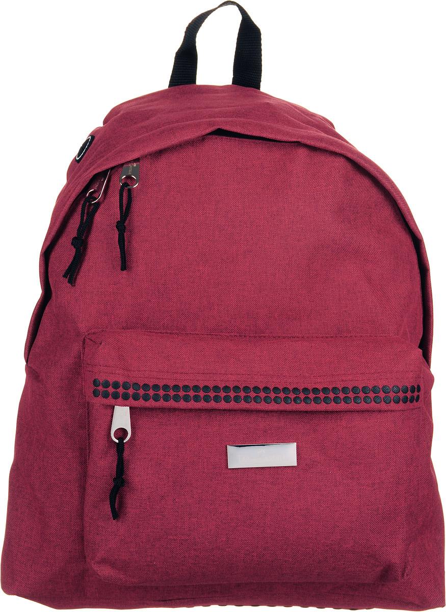 Faber-Castell Школьный рюкзак Grip в целофане красный573322очень качественные рюкзаки Faber-Castell • фирменный дизайн Grip • сделаны из текстильных материалов с водоотталкивающим покрытием • 6 привлекательных цветов • регулируемые лямки • надежная молния