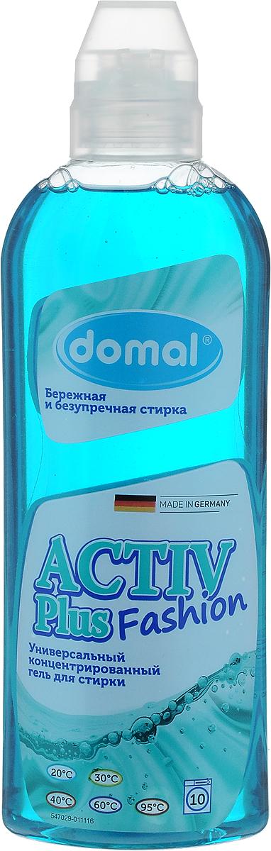 Гель для стирки Domal Activ, универсальный, концентрированный, 375 мл37521Концентрированный гель Domal Activ Plus Fashion благодаря активной формуле с эффектом интенсивного пятноудаления безупречно растворяет всевозможные, даже глубоко въевшиеся и застарелые загрязнения. Регулярное использование Domal Activ сохранит форму и первоначальный внешний вид Ваших изделий. Произведен в Германии. Domal Activ идеально подходит для стирки изделий из любых тканей: хлопка, синтетических и смесовых тканей любых цветов. Бережно заботится о цвете и волокнах тканей, не повреждая их структуру. Предназначен для всех типов стиральных машин и ручной стирки при температуре от 20 до 95 градусов. Содержит добавки, препятствующие образованию накипи. Экономичен: 1 флакона средства достаточно для стирки 25 кг сухого белья . Не рекомендуется использовать для стирки изделий из шерсти и шелка.