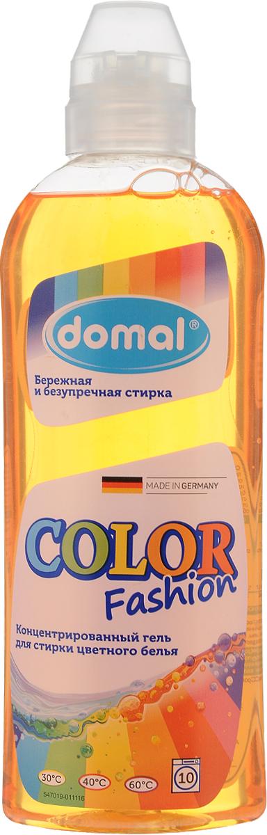 Гель для стирки Domal Color, концентрированный, для цветного белья, 375 мл37551Концентрированный бальзам Domal Color Fashion гарантирует безупречное качество стирки. Сохраняет и освежает яркость цвета, предупреждает смешивание красок благодаря специальной активной формуле защиты цвета. Регулярное использование Domal Color Fashion сохранит форму и первоначальный внешний вид и цвет Ваших вещей. Произведен в Германии. Предназначен для ручной и машинной стирки цветных изделий из хлопчато-бумажных и синтетических тканей. Подходит всех типов стиральных машин и ручной стирки при температуре от 30 до 60 градусов. Содержит добавки, препятствующие образованию накипи. Экономичен: 1 флакона средства достаточно для стирки 25 кг сухого белья . Не рекомендуется использовать для стирки изделий из шерсти и шелка.