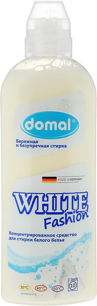 Средство для стирки Domal White, концентрированное, для белого белья, 375 мл37581Концентрированное средство Domal White Fashion обеспечивает безупречное качество стирки, придает белью сияющую белизну и свежесть, предотвращает появление серого оттенка, защищает структуру ткани . Регулярное использование Domal White Fashion сохранит форму и первоначальный внешний вид Ваших вещей. Произведено в Германии специально для всех видов белого белья, включая шелк. Предназначено для всех типов стиральных машин и ручной стирки при температуре от 30 до 60 градусов. Содержит добавки, препятствующие образованию накипи. Экономичен: 1 флакона средства достаточно для стирки 25 кг сухого белья.