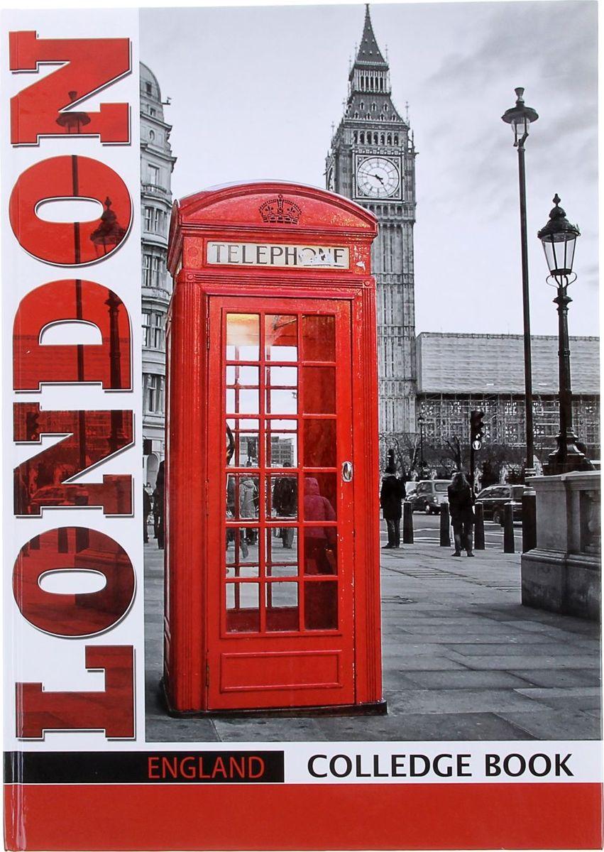 Бриз Тетрадь Лондон 80 листов в клетку1067684