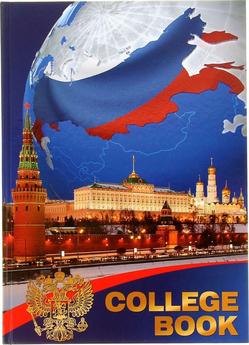 Бриз Тетрадь Россия 160 листов в клетку1138906
