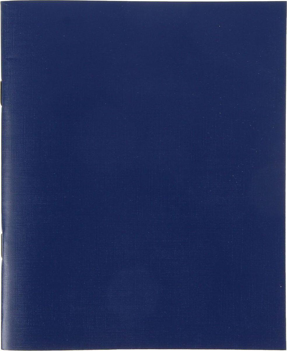 КПК Тетрадь 48 листов в клетку цвет синий1191024