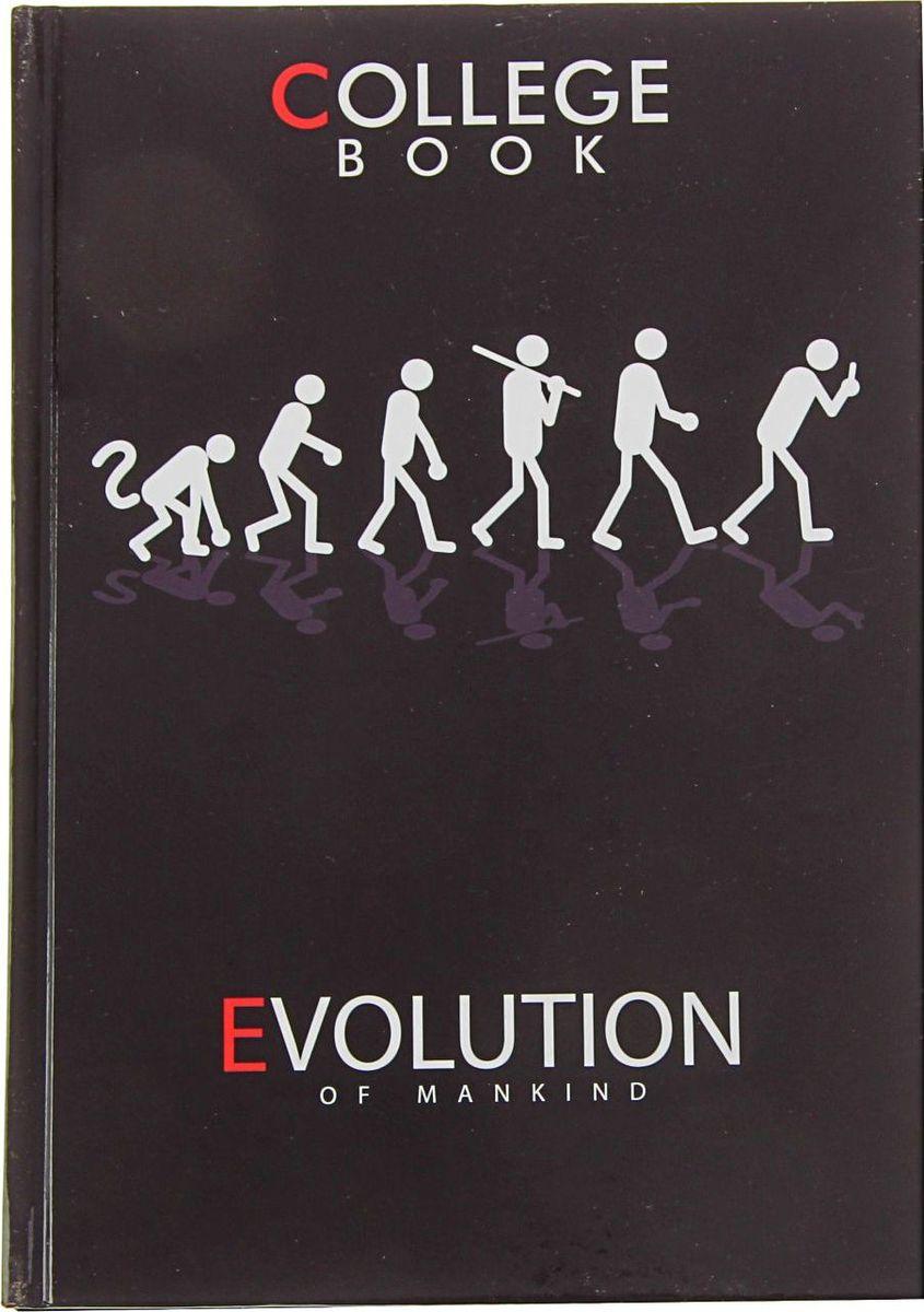 Бриз Тетрадь Эволюция 160 листов в клетку1224412