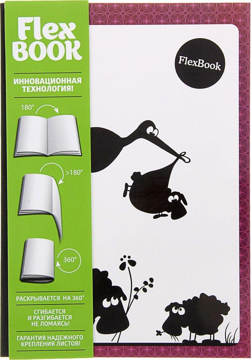 Expert Complete Тетрадь Flex Book Animals Аист 80 листов в клетку1241749