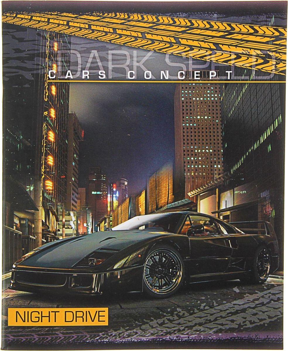 ТетраПром Тетрадь Night Drive 36 листов в клетку1344465
