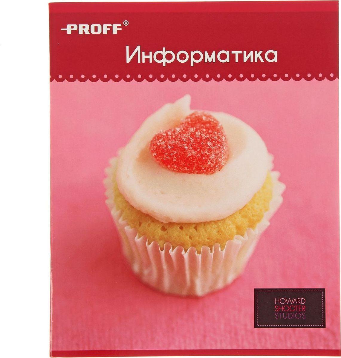 Proff Тетрадь Hearts Информатика 48 листов в клетку1432873