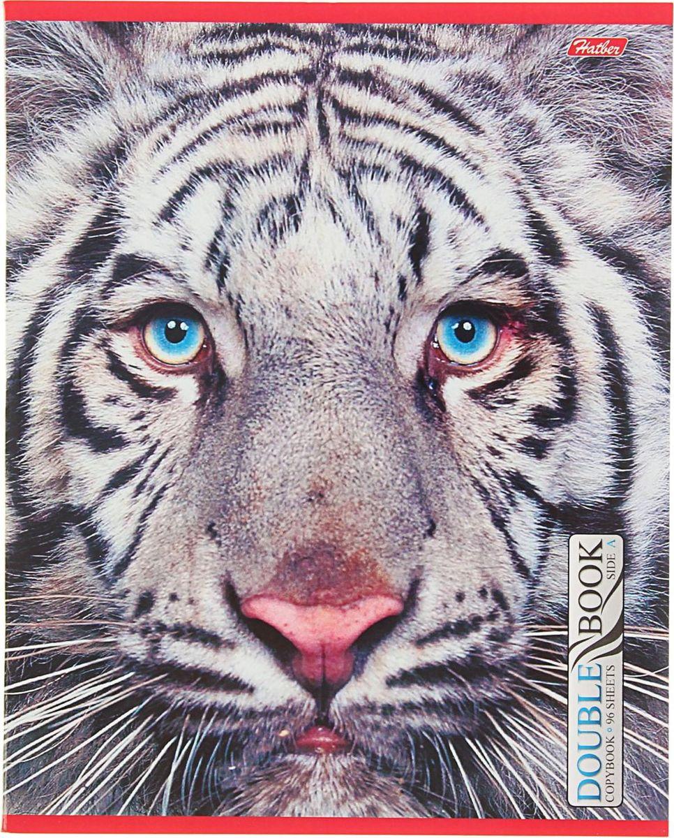 Hatber Тетрадь Тигр 96 листов в клетку1442416