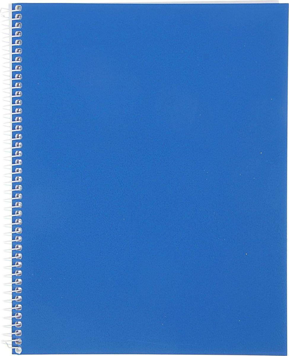 КФОБ Тетрадь 96 листов в клетку цвет синий1446547