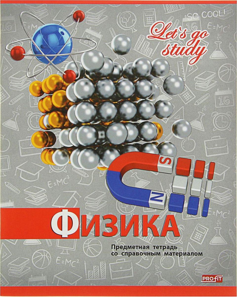 Profit Тетрадь Серебро Физика 36 листов в клетку2093169