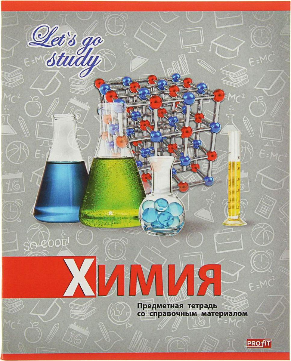 Profit Тетрадь Серебро Химия 36 листов в клетку2093170