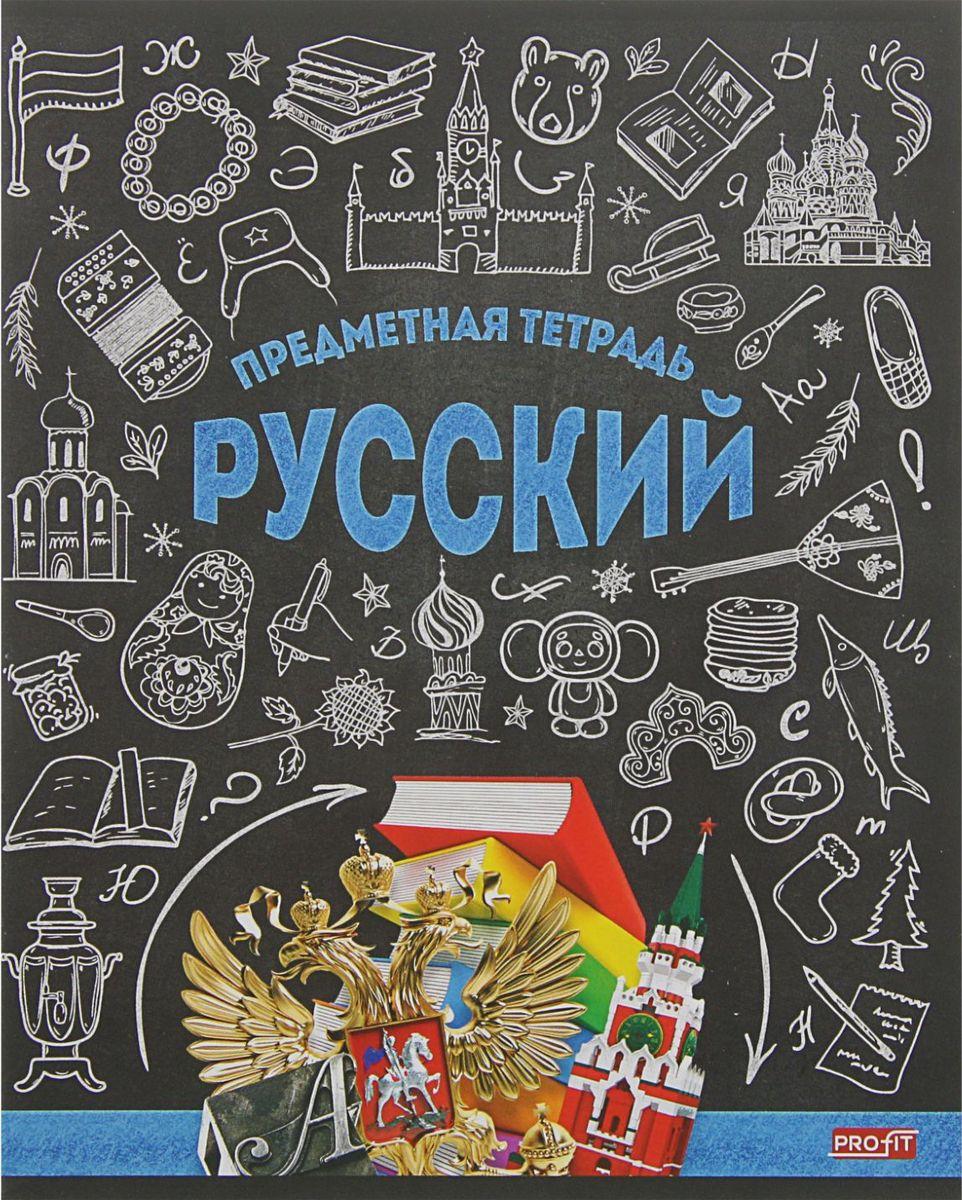 Profit Тетрадь Стильная Русский язык 48 листов в линейку2170881