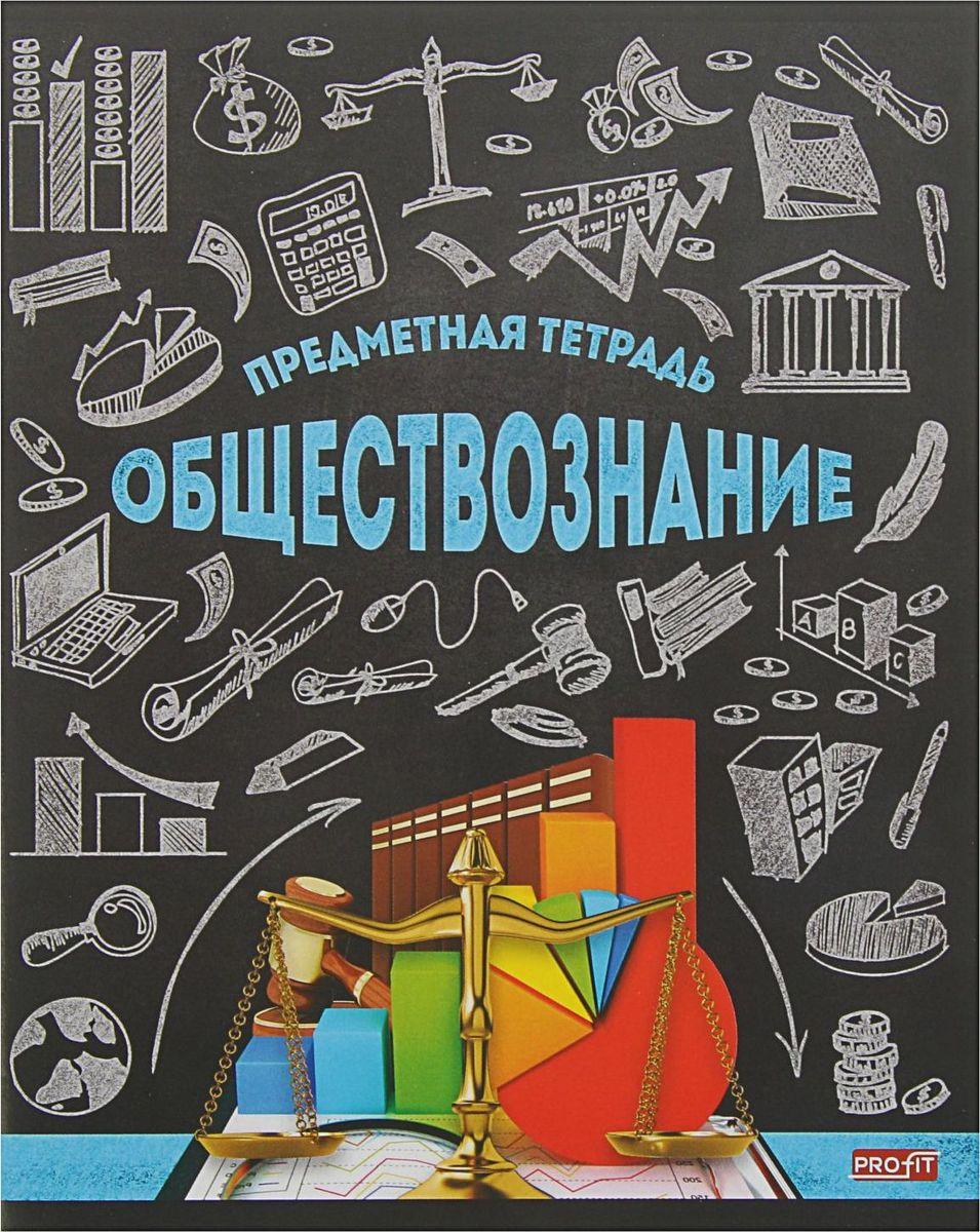 Profit Тетрадь Стильная Обществознание 48 листов в клетку2170883