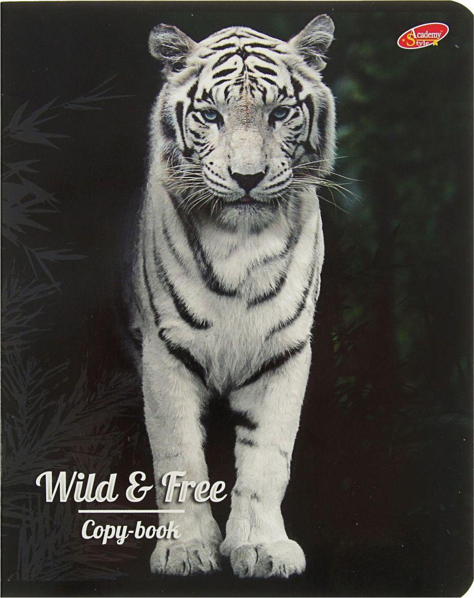 Green Island Тетрадь Животные Wild & Free 80 листов в клетку2228658