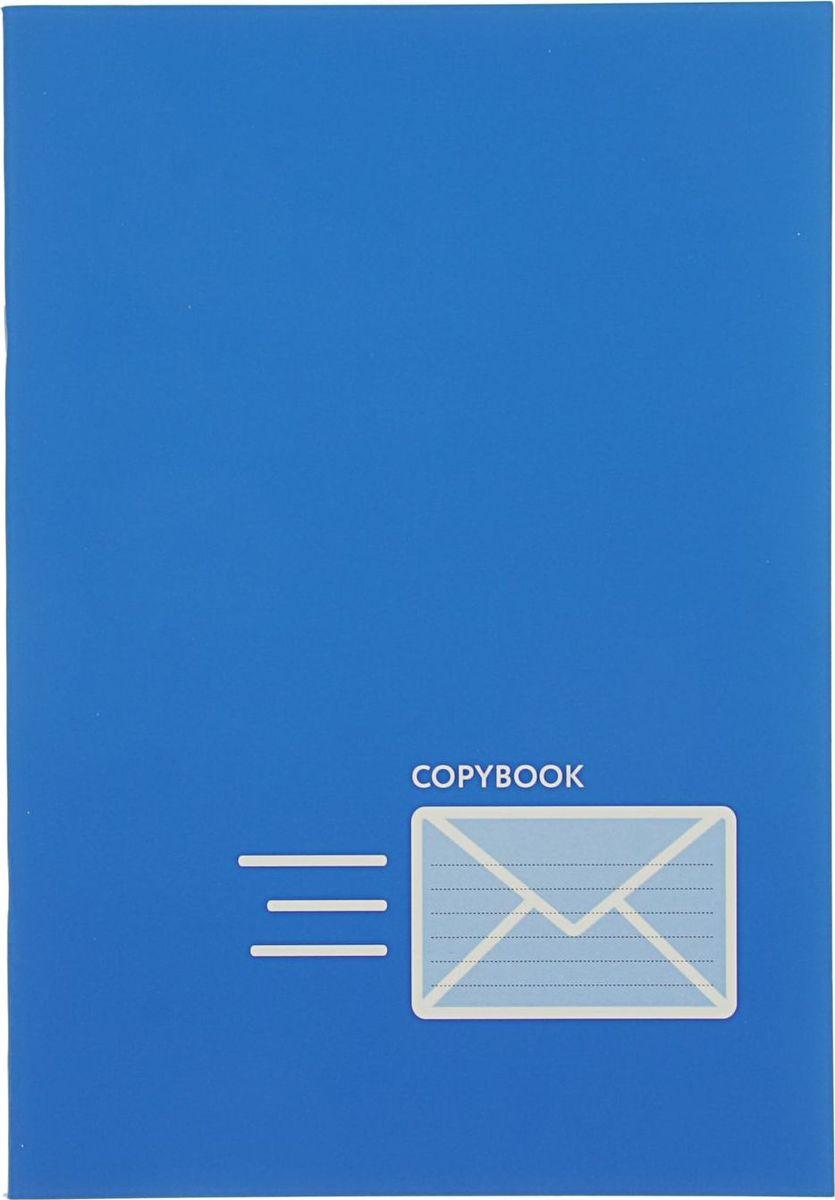 BG Тетрадь Your Mail 48 листов в клетку цвет синий2304390