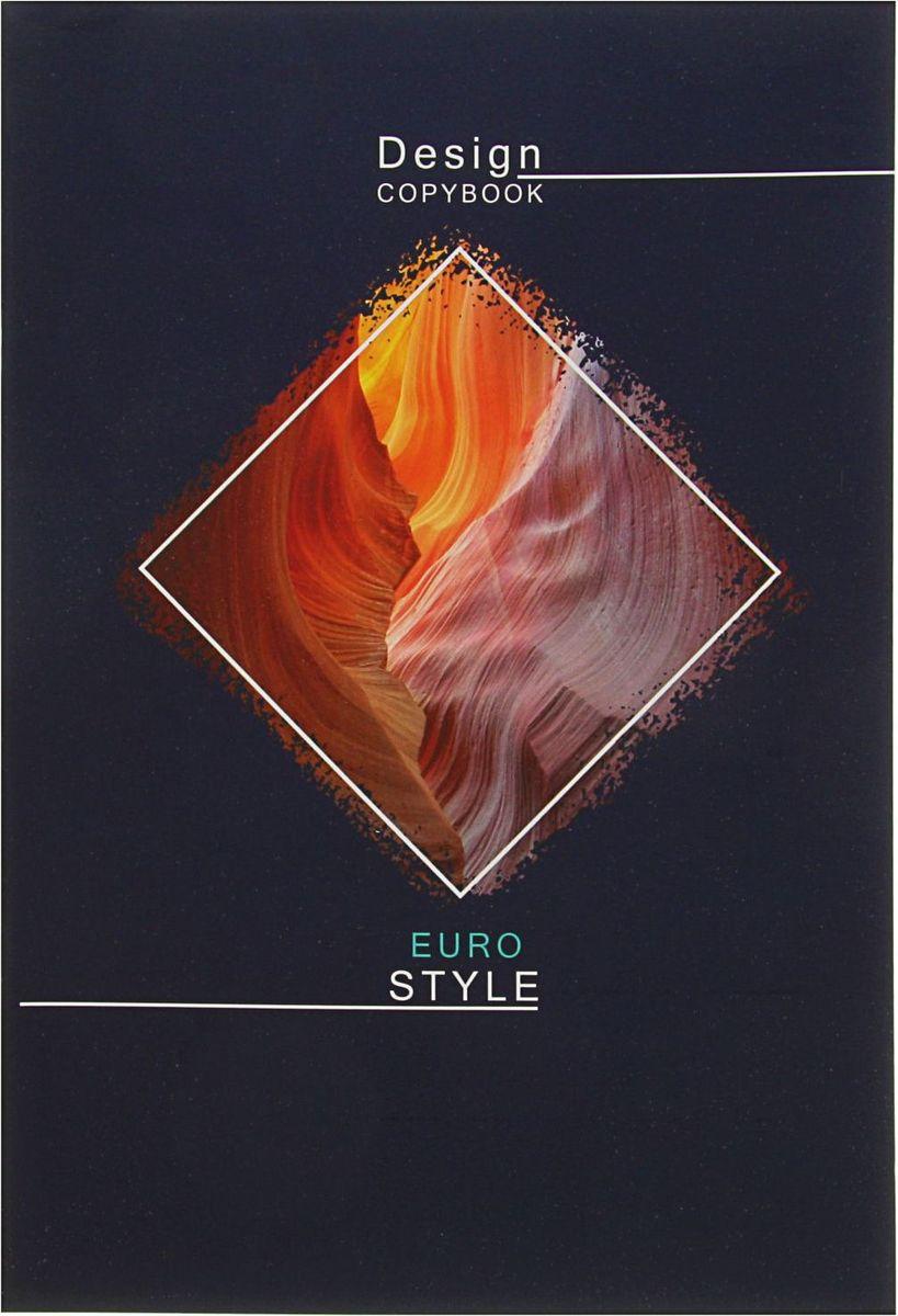BG Тетрадь Eurodesign 80 листов в клетку2304391