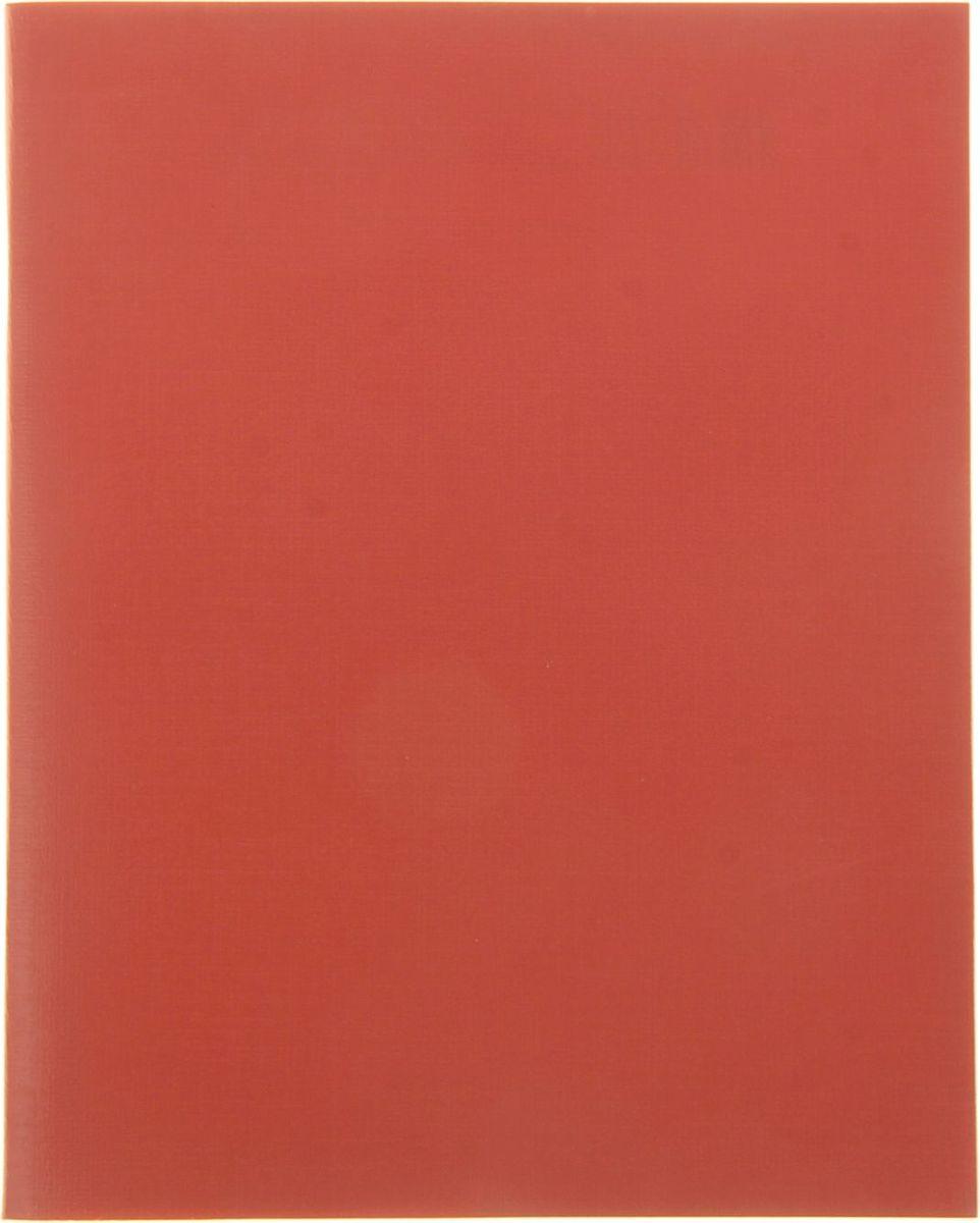 Hatber Тетрадь 96 листов в клетку цвет красный994453