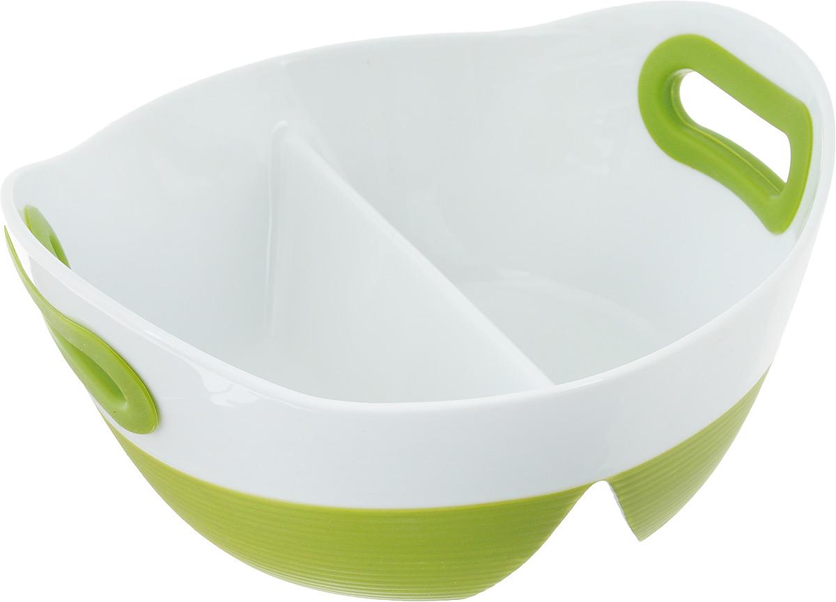 Блюдо BartonSteel, цвет: зеленый, белый, 1,2 л. 2413BS2413BSОвальное фарфоровое блюдо для выпечки. Размер: 23,5х22х10 - 1,2л
