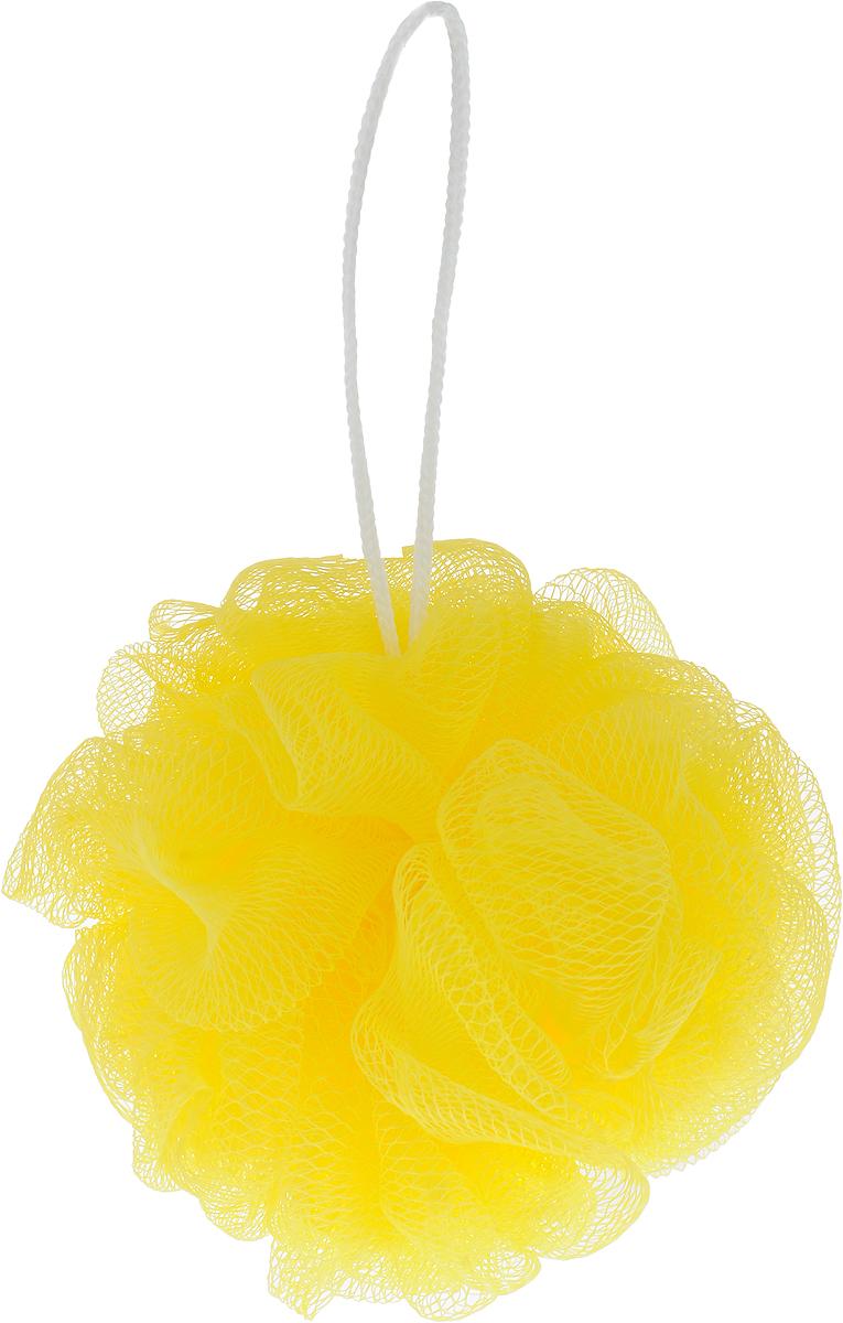 Мочалка массажная Eva Бантик, средней жесткости, цвет: желтый, диаметр 12 смМС50_желтыйМочалка Eva Бантик, выполненная из нейлона, станет незаменимым аксессуаром в ванной комнате. Благодаря своему составу она отлично пенится. Мочалка оказывает эффект массажа, тонизирует и очищает кожу. На мочалке имеется удобная петелька для подвешивания. Подходит для всех типов кожи и не вызывает аллергию. Диаметр: 12 см.