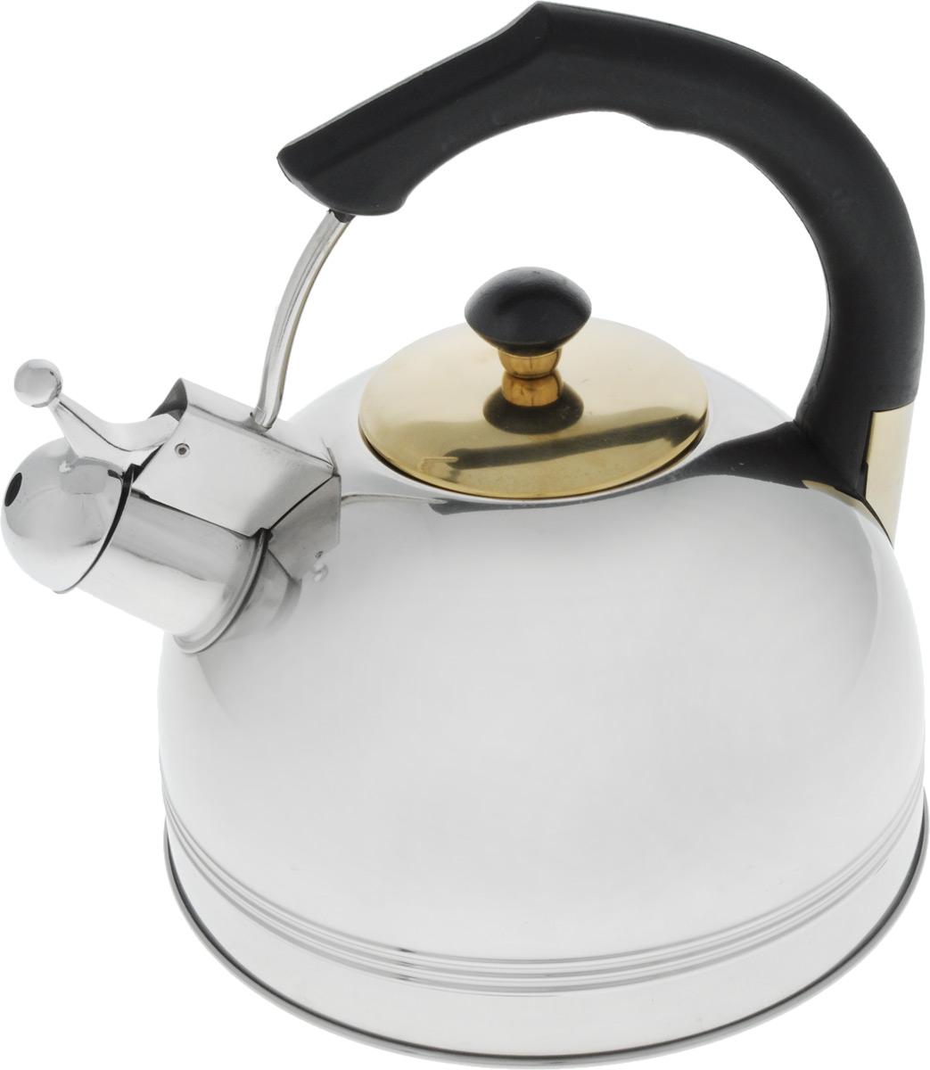Чайник металлический BHL - 655 BK /3,0л./ (х12)655BHLBKЧайник Емкость 3.0л Нержавеющая сталь. Черная бакелитовая ручка - не нагревается. Дно подходит ДЛЯ ИНДУКЦИИ.