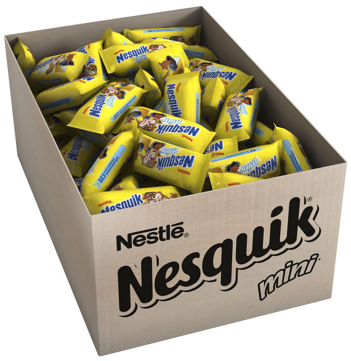 Nesquik Mini молочная начинка, 2 кг12166448Конфета с нугой, молочной начинкой. Отличное лакомство для вашего непоседы, чтобы: - наслаждаться каждый день - поделиться с друзьями - взять с собой.