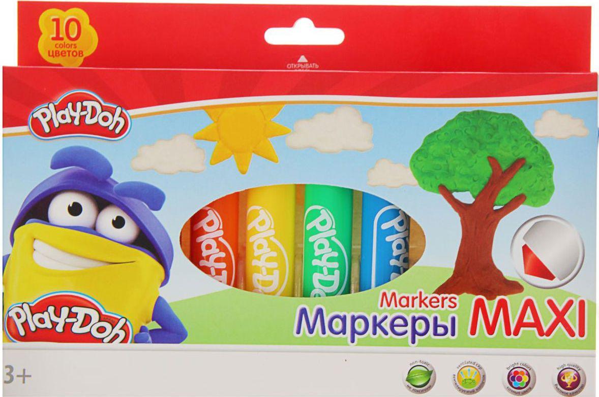 Play-Doh Набор фломастеров Jumbo 10 цветов1397534